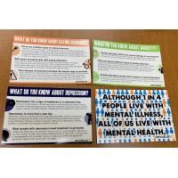 12 Assorted Mental Health Awareness Posters